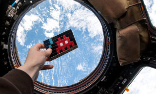 Invader Invades the International Space Station