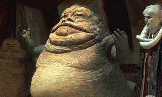 "Watch the Making of Jabba the Hutt in ""Slimey Piece of Worm-Ridden Filth"""