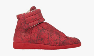 "Maison Margiela ""Cracked"" Future High Top Sneaker"