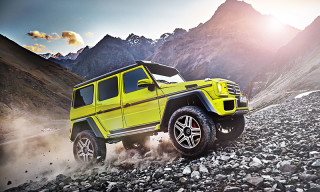 An Exclusive Look at the Mercedes-Benz G 500 4×42 Concept