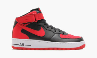 "Nike Air Force 1 Mid ""Bred"""