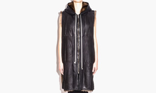 Rick Owens Spring/Summer 2015 Sleeveless Hoodie Selling for $163,184 USD