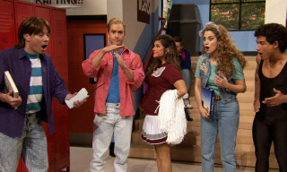 Watch Jimmy Fallon Reunite the 'Saved by the Bell' Cast Back at Bayside High