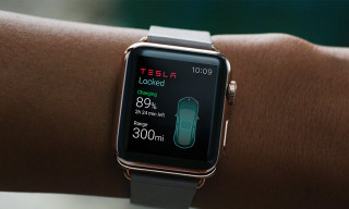 Tesla Unveils Apple Watch App