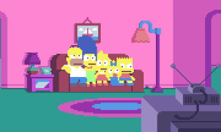 Watch 'The Simpsons' Intro in Pixels