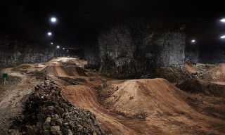 The World's Largest Indoor Bike Park is Underground in a Limestone Mine
