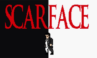 Watch 'Scarface' Recreated in 8-Bit
