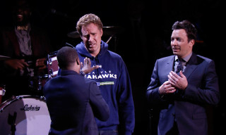 Watch Will Ferrell, Kevin Hart and Jimmy Fallon Compete in a Lip Sync Battle