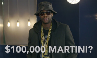 2 Chainz and Big Sean Sip $100,000 Diamond Martinis in GQ's 'Most Expensivest Shit'