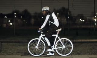 "Volvo Unveil Ultra-Reflective ""LifePaint"" to Protect Cyclists"