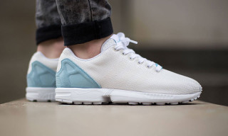 "adidas Originals ZX Flux Weave ""Off White/Blush Blue"""
