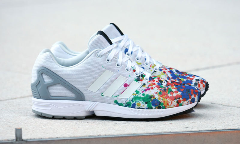 adidas zx flux nere e bianche