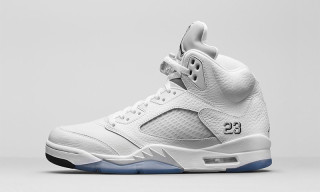 Air Jordan 5 Retro 'Metallic Silver'