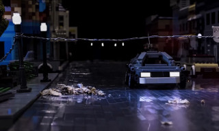 Watch 'Back to the Future' Recreated in LEGO