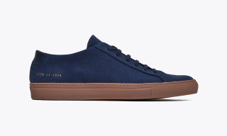 Common Projects x Très Bien Achilles Canvas Dark Blue
