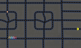 Play Pac-Man in Google Maps