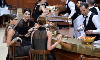 Karl Lagerfeld Turns Grand Palais Into Parisian Brasserie for Chanel's Fall/Winter 2015 Show