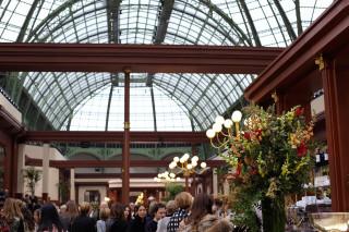 karl lagerfeld turns grand palais into parisian brasserie highsnobiety. Black Bedroom Furniture Sets. Home Design Ideas