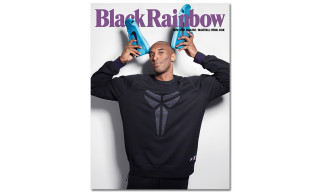 Kobe Bryant Covers BlackRainbow Magazine 'Basketball' Issue