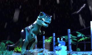Watch Classic 'Jurassic Park' Scenes Recreated in LEGO