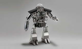 MB&F Melchior Robot Table Clock