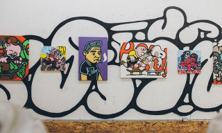 "MEKA ""PUSH"" Art Show at Escape OTH"