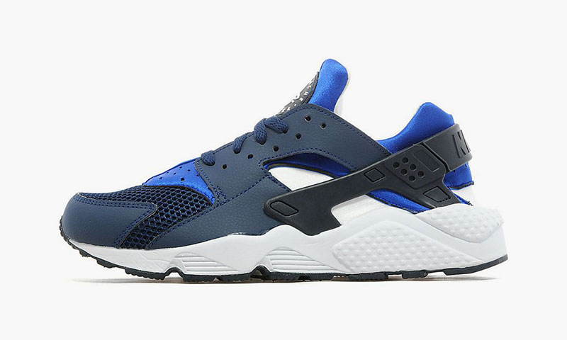 blue and grey huaraches