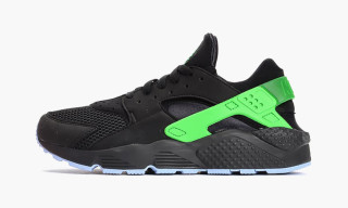 "Nike Air Huarache Run FB ""Black/Poison Green"""