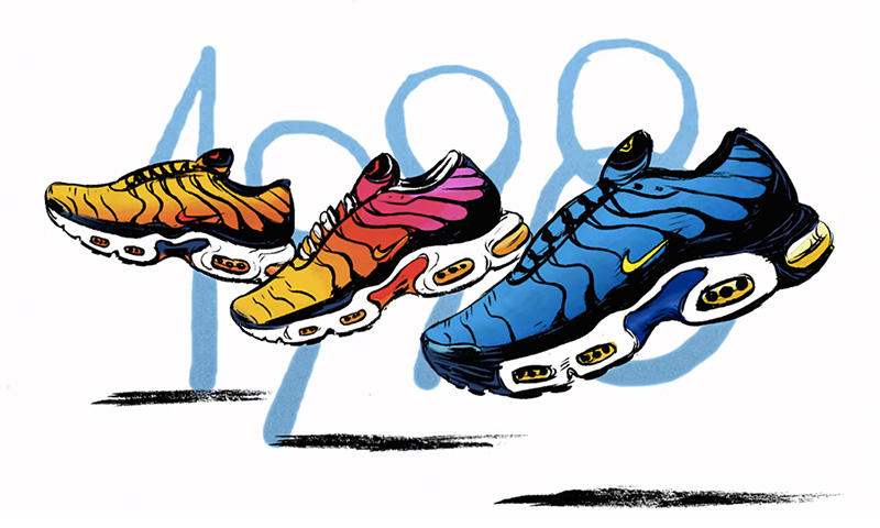 Nike Shoes History Collection