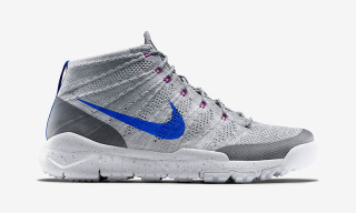 "Nike Flyknit Trainer Chukka FSB ""Wolf Grey/White/Fuchsia Flash/Lyon Blue"""