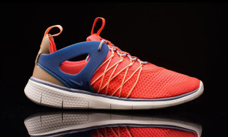 "Nike Free Viritous ""Bright Crimson/Blue Legend"""