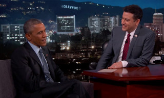 Watch President Obama Discuss His Relationship with Kanye West on 'Jimmy Kimmel Live!'