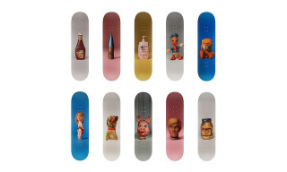 Paul McCarthy Designs Skate Deck Collection for The Skateroom