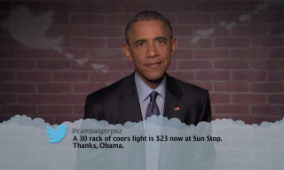 "Watch President Obama Read ""Mean Tweets"" on 'Jimmy Kimmel Live!'"