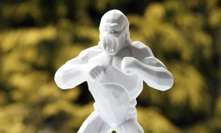 Richard Orlinski x K.Olin tribu Wild Kong Porcelain