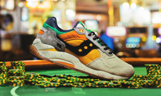 "Saucony x Feature G9 Shadow 5 ""The Pumpkin"""
