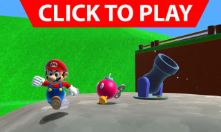 Play Super Mario 64's Most Iconic Level in HD in Your Browser