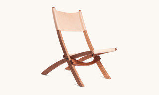 Tanner Goods Introduce Leather Folding Chair