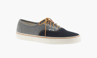 Vans x J.Crew Two-Tone Denim Sneaker Collection