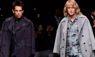 Zoolander and Hansel Close Valentino Fall/Winter 2015 Runway Show