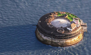 19th-Century Sea Fort Has Been Converted Into a Luxury Hotel
