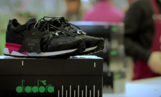 "Watch How the 24 Kilates x Diadora N.9000 ""TORO"" Is Made"