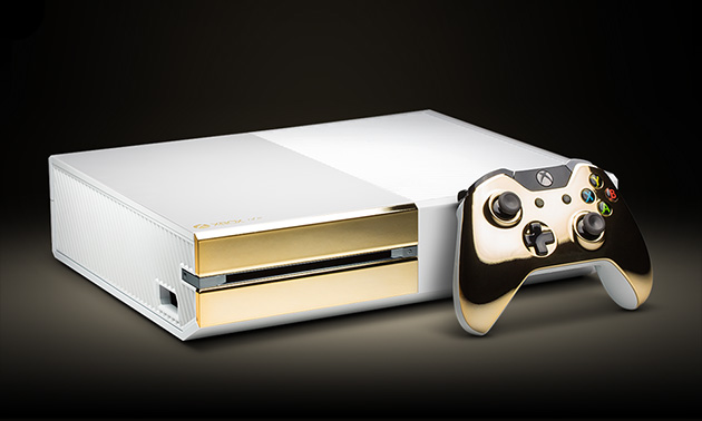 Xbox One Gold By Colorware Highsnobiety