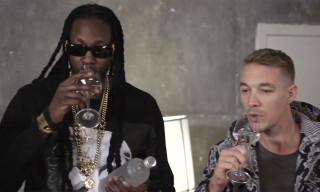 Watch 2 Chainz & Diplo Try $100K Bottled Water on GQ's 'Most Expensivest Shit'