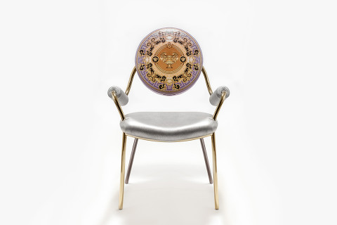 Exceptionnel Just In Time For This Yearu0027s Milan Design Fair Salone Del Mobile, Versace  Home Have Released The Extravagant La Coupe Des Dieux Chair.
