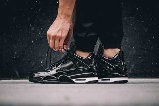 5aca5cc7c81f Air Jordan 11Lab4 Black
