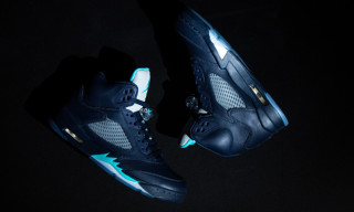 "A Closer Look at the Air Jordan 5 Retro ""Hornets"""