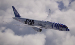 ANA Launches Star Wars R2-D2 Plane