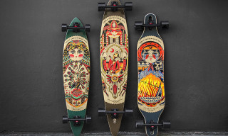"Arbor Collective x Kyler Martz ""GT Artist Series"" Skateboard Collection"
