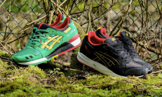 "ASICS GEL-Lyte III and GEL Saga ""Carnival"""